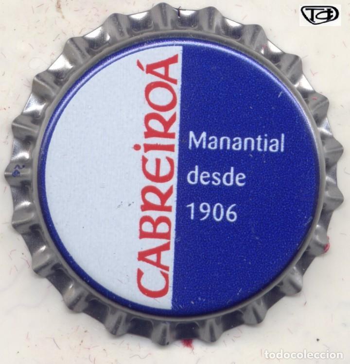 CHAPA AGUA CABREIROA XAPA KRONKORKEN TAPPI BOTTLE CAP CAPSULE (Coleccionismo - Botellas y Bebidas - Cerveza )