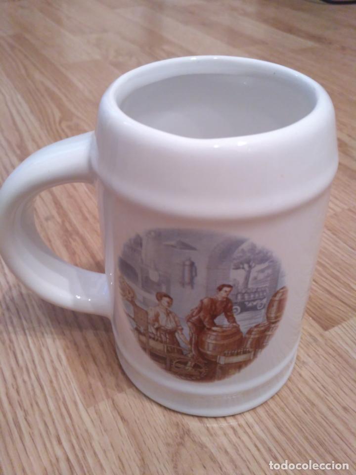 Coleccionismo de cervezas: jarra de cerveza la cruz blanca - Foto 4 - 161515590