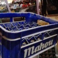 Coleccionismo de cervezas: CAJA MAHOU CERVEZAS VACIA PARA 24 BOTELLINES. Lote 161565630