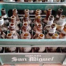 Coleccionismo de cervezas: CAJA SAN MIGUEL CON 24 BOTELLINES . Lote 161565902