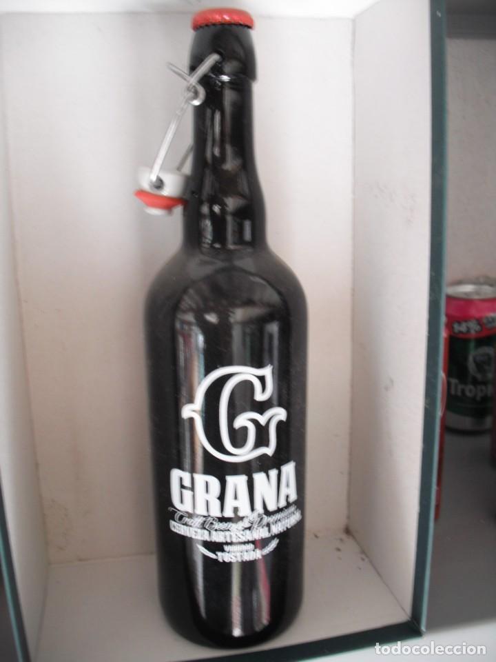 BOTELLA 75 CL CERVEZA ARTESANAL GRANA DE MURCIA. LLENA. EDICION LIMITADA (Coleccionismo - Botellas y Bebidas - Cerveza )