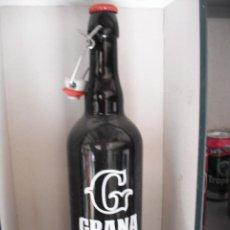 Coleccionismo de cervezas: BOTELLA 75 CL CERVEZA ARTESANAL GRANA DE MURCIA. LLENA. EDICION LIMITADA. Lote 161586762