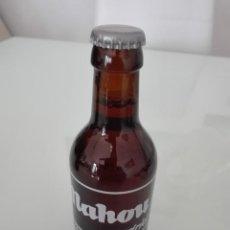 Coleccionismo de cervezas: BOTELLA DE MAHOU ESPECIAL LLENA SERIGRAFIADA SIN ABRIR NUEVA IMPECABLE. Lote 162825266