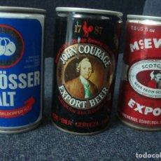 Coleccionismo de cervezas: BOTES ANTIGUOS DE CERVEZA. Lote 137174734