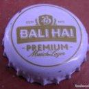 Coleccionismo de cervezas: TAPÓN CORONA BEER CHAPA CERVEZA BALI HAI. INDONESIA.-----LOTE N.1675-------CARMANJO. Lote 165200870