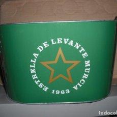 Coleccionismo de cervezas: CUBO METALICO DE CERVEZA ESTRELLA LEVANTE. NUEVO SIN USO. Lote 165404526