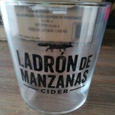 Coleccionismo de cervezas: LADRÓN DE MANZANA - CAJA 6 VASOS-CIDER - HEINEKEN. Lote 175785848