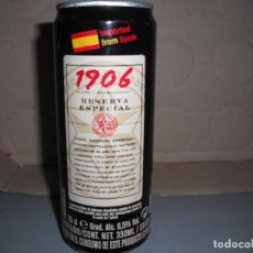 Coleccionismo de cervezas: LATA CERVEZA 1906 DE 33 TUBO PARA EXPORTACION A HISPANOAMERICA. Lote 166571942