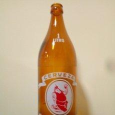 Coleccionismo de cervezas: BOTELLA CERVEZA CRUZCAMPO 100CL. Lote 167881473