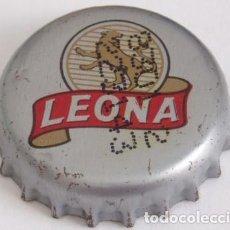 Coleccionismo de cervezas: CHAPA CERVEZA LEONA DE COLOMBIA. Lote 168252956