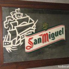 Coleccionismo de cervezas: ESPEJO SAN MIGUEL. Lote 169583644