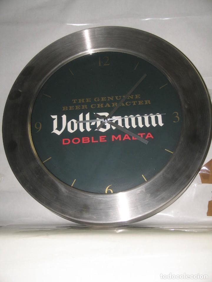 RELOJ VOLL DAMM (Coleccionismo - Botellas y Bebidas - Cerveza )