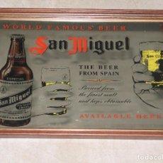 Coleccionismo de cervezas: ESPEJO SAN MIGUEL. Lote 169741164