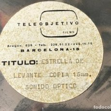 Coleccionismo de cervezas: CERVEZAS ESTRELLA DE LEVANTE - PELICULA PUBLICITARIA EN 16 MM - VER FOTOS. Lote 171203367