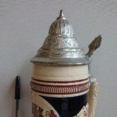 Coleccionismo de cervezas: JARRA DE CERVEZA ALEMANIA ORIGINAL KING. Lote 171996607