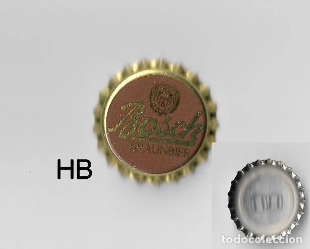 Lot of 4  Spanish Beer Bottle Caps  Crown kronkorken CHAPA TAPPI KAPSULE