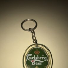 Coleccionismo de cervezas: LLAVERO CON MARCA DE CERVEZA CARLSBERG ... ZKR. Lote 172613454
