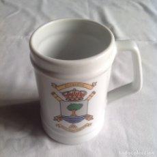 Coleccionismo de cervezas: JARRA MILITAR ACEBUCHE. BUA D-15 DEL GACTA. 13 CM.. Lote 173352253