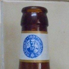 Coleccionismo de cervezas: BOTELLA VACÍA Y SIN CHAPA CERVEZA 1897 TRIGO SUAVE. BOTELLA DE 0,33L.. Lote 173590862