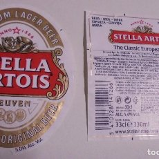 Coleccionismo de cervezas: ETIQUETA DE CERVEZA STELLA ARTOIS. Lote 173594232