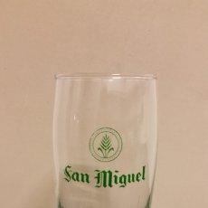 Coleccionismo de cervezas: VASO CERVEZA SAN MIGUEL. Lote 173596088
