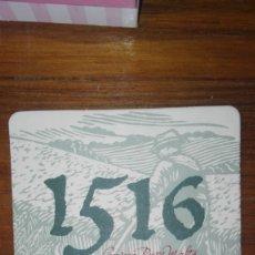 Coleccionismo de cervezas: POSAVASOS 1516. Lote 173797185