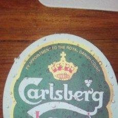 Coleccionismo de cervezas: POSAVASOS CARLSBERG. Lote 173797424