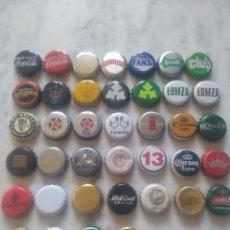 Coleccionismo de cervezas: LOTE DE 39 CHAPAS DE CERVEZA Y REFRESCOS DE IRLANDA.. Lote 174092979