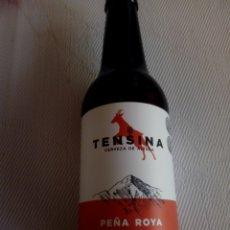 Coleccionismo de cervezas: BOTELLA CERVEZA TENSINA HUESCA. Lote 175252799