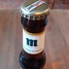 Coleccionismo de cervezas: MAHOU CLASICA BOTELLÍN 1/5 FALLO-ERROR CHAPA SAN MIGUEL. Lote 175793407