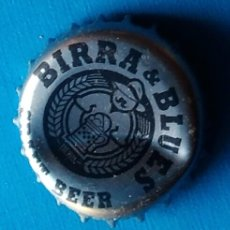 Coleccionismo de cervezas: CHAPA CERVEZA BIRRA AND BLUES. Lote 175947803
