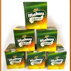 Coleccionismo de cervezas: LOTE DE 6 JARRAS MAHOU CLASICA - NUEVO. Lote 101384795