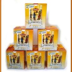 Coleccionismo de cervezas: LOTE DE 6 JARRAS MAHOU HISTORIA DE LA CERVEZA VISIGODOS 10ª SERIE - NUEVO. Lote 43503850
