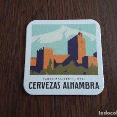 Coleccionismo de cervezas: POSAVASOS DE CERVEZA ALHAMBRA. Lote 184051275