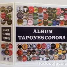 Coleccionismo de cervezas: ALBUM BBB* BEUMER*, PARA TAPONES CORONA.. Lote 272583308