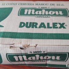 Coleccionismo de cervezas: 7 COPAS CERVEZA MAHOU. Lote 176337653