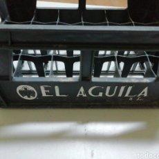 Coleccionismo de cervezas: CAJA PLÁSTICO CERVEZAS EL ÁGUILA.. Lote 176403834