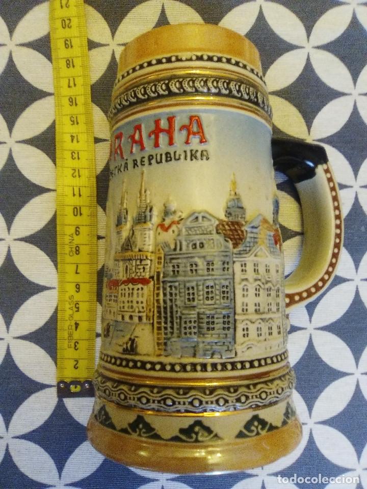 JARRA PARA CERVEZA TIPO ALEMANA (Coleccionismo - Botellas y Bebidas - Cerveza )