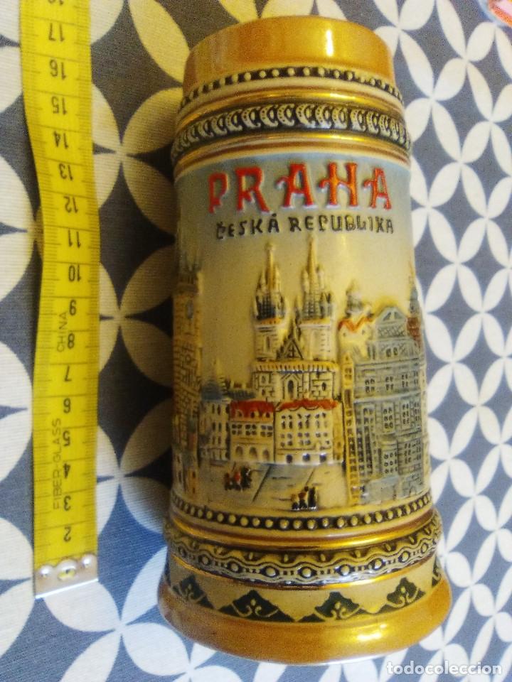 Coleccionismo de cervezas: JARRA PARA CERVEZA TIPO ALEMANA - Foto 2 - 176775252