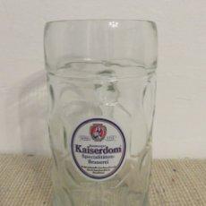 Coleccionismo de cervezas: JARRA DE CERVEZA KAISENDOM. Lote 176925074