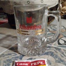Coleccionismo de cervezas: JARRA CERVEZAS ALHAMBRA. Lote 178395013