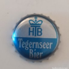 Coleccionismo de cervezas: TAPON CORONA CERVEZA ALEMANA TEGERNSEER BIER . Lote 178803657