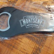 Coleccionismo de cervezas: MONTSENY - ABRIDOR-ABREBOTELLAS. Lote 178866552