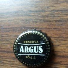 Coleccionismo de cervezas: CHAPA ARGUS RESERVA 1844 TAPON TAPÓN CORONA. Lote 180022645