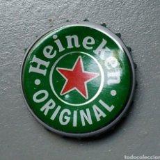 Coleccionismo de cervezas: CHAPA CERVEZA HEINEKEN ORIGINAL. Lote 180092323