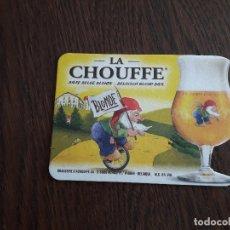 Coleccionismo de cervezas: POSAVASOS DE CERVEZA BELGA, LA CHOUFFE. Lote 180278918