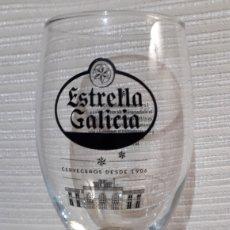 Coleccionismo de cervezas: BONITA COPA DE CERVEZA ESTRELLA GALICIA. Lote 180280346