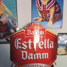 Coleccionismo de cervezas: RELOJ LITOGRAFÍA ESTRELLA DAMM. Lote 181784530