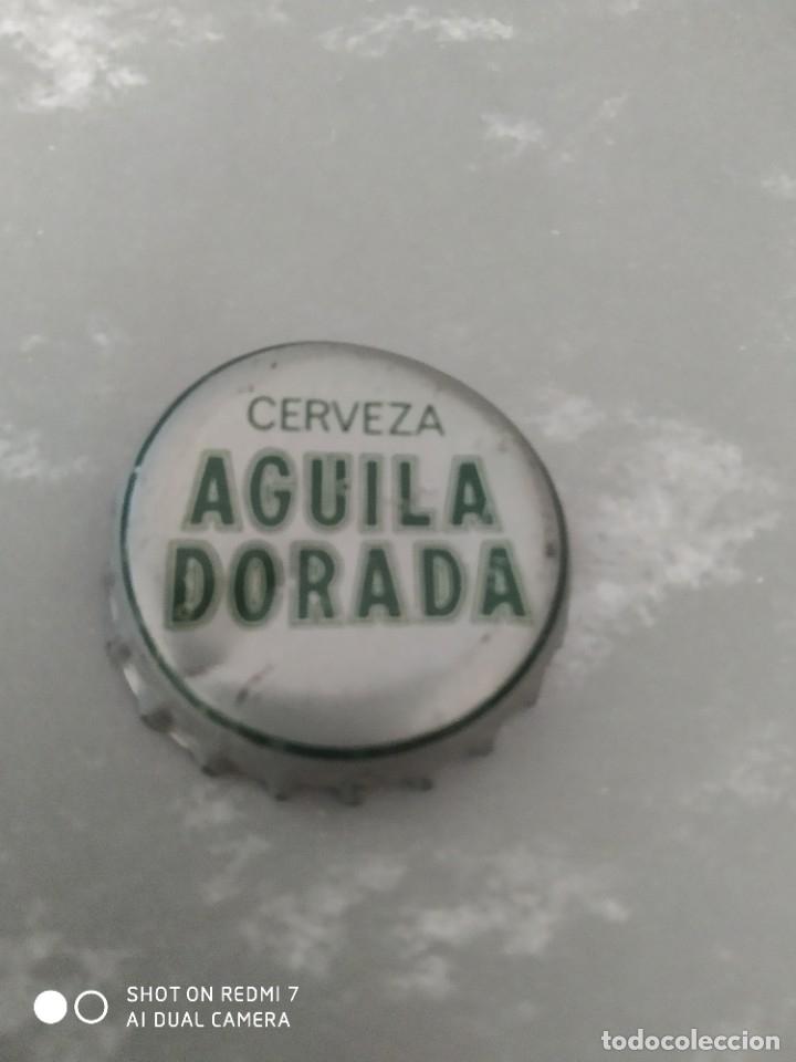 CHAPA TAPÓN CORONA DE CERVEZA ÁGUILA (Coleccionismo - Botellas y Bebidas - Cerveza )