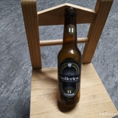 Coleccionismo de cervezas: ANTIGUA BOTELLA CERVEZA VACIA ARTESANAL SULLERICA AMB FLOR DE TARONGER MALLORCA. Lote 182829536